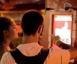Coca-Cola facial recognition kiosk uploads straight to Facebook (Video)