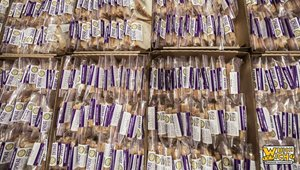 What do 26,710 PB&J sandwiches look like? Thanks to Which Wich, we now know