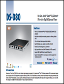 5th Gen. Intel® Core™ i5/Celeron® Ultra-slim Digital Signage Player