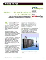 Wireless - The New Standard in ATM Connectivity