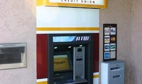 After: Arizona Heritage Credit Union custom ATM surround.