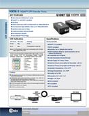 HX1K-3 HDMI™ UTP Extender Series