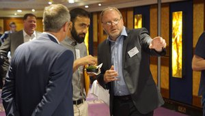 Gregor Milne of Havi shares advice with attendees. Photo credit: Ryan Cansler