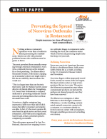 Preventing the Spread of Norovirus Outbreaks in Restaurants