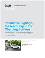 Interactive Signage, the Next Step in EV Charging Stations