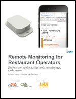 Remote Monitoring for Restaurant Operators