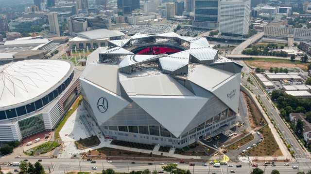 Mercedes Benz Stadium First Pro Stadium To Earn Leed