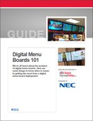 Digital Menu Boards 101