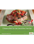 Webinar: 5 Reasons Beef Fits Fast Casual More Than Ever