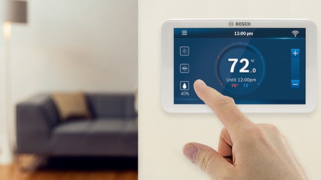 Bosch unveils new connected thermostat