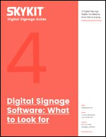 Digital Signage Software: What to Look For