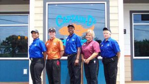 The Captain D's Seafood Kitchen located at 2236 Ross Clark Circle NW in Dothan, Ala., was significantly damaged by fire in January 2009. On June 15, management welcomed guests to the newly rebuilt store, which has 41 employees.