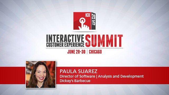 Interactive customer experience technology has to make sense