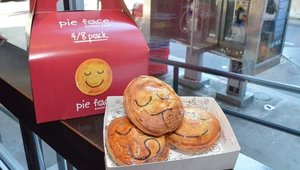 Customers can pick up pie packs to go; dessert packs are popular for parties and office lunches.