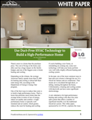 Use Duct-Free HVAC Technology to Build a High-Performance Home