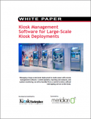 Kiosk Management Software for Large-Scale Kiosk Deployments
