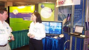 The Innobeta booth.