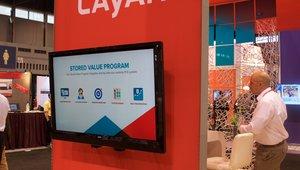 <p>Cayan sets up shop at NRA.</p>