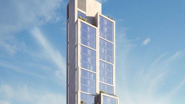 N.Y. building's facade cleans air