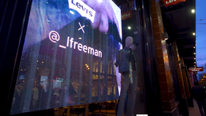 Reflect upgrades Levi's San Francisco store with video walls