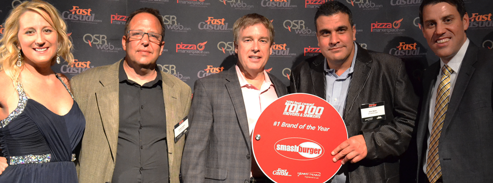 Smashburger named top brand, Fazoli's CEO named top exec for 2014 Fast Casual Top 100 Movers & Shakers