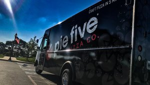 Kansas City Pie Five franchisee driving sales with food truck