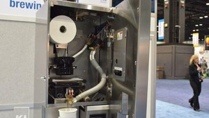 Technologies Coffea Inc's Coffea vacuum brewing system is a programmable, whole bean-to-cup system that uses a vacuum extraction brew process and infusion brew chamber for a calculated steep time and fast, precise extraction.