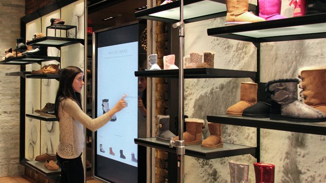 UGG Brings Interactive Signage To New Concept Store Retail - Free creative invoice template official ugg outlet online store