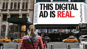 Digital signage getting advertisers to 'Feel the Real'