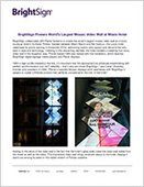 BrightSign Powers World's Largest Mosaic Video Wall at Miami Hotel