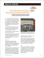 Three Benefits of Using a Restaurant Design Build Firm
