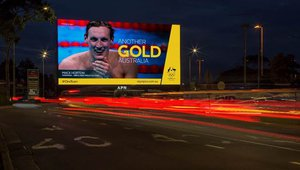 Digital signage brings 2016 Rio Games to streets of Australia