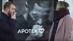 Anti-smoking digital signage sparks controversy