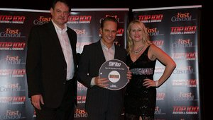 <p>Fresh To Order CEO Pierre Panos receives the brand's Top 100 award.</p>