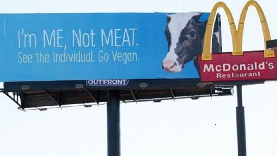 PETA's new ads aim squarely at QSR customers