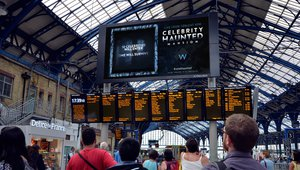 Grand Visual launchs DOOH campaign for UKTV's haunted house show