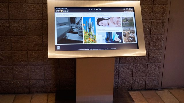 JANUS Displays Completes Digital Signage Installation at Loews Ventana Canyon Resort