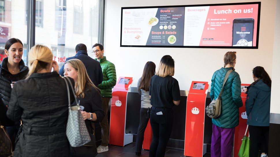 Wow Bao introduces Eatsa self-serve technology to new Chicago store