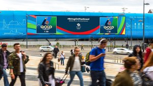 2016 Rio Games play across DOOH screens