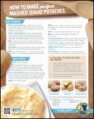 How to Make Perfect Mashed Idaho® Potatoes