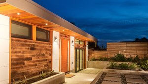 A laneway house on Vancouver's East Side designed and built by Lanefab Design/Build.