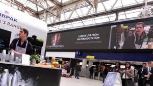 Digital signage key ingredient for experiential campaign recipe