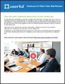 Webinar: Office Video Walls - Dashboards, Meeting Rooms & Team Collaboration
