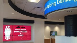 Regional and local banks are banking on digital signage