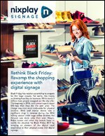 Rethink Black Friday: Revamp the shopping experience with digital signage