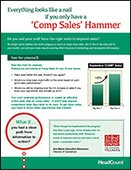 Everything looks like a nail if you only have a 'Comp Sales' Hammer