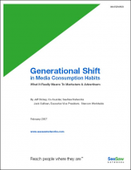 Generational Shift in Media Consumption