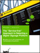 The Services-first Approach to Selecting a Digital Signage Platform