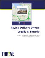 Pay Delivery Drivers Legally & Smartly
