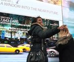 BMW digital signage turns passing autos into concept cars in NYC (Video)